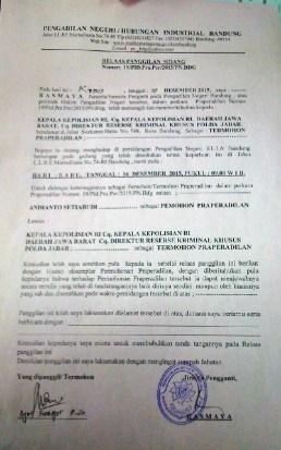 20151210-PanggilanPraPeradilanolehTimOknumCPGT-AS-dkk-kepada KepolisianIndonesia